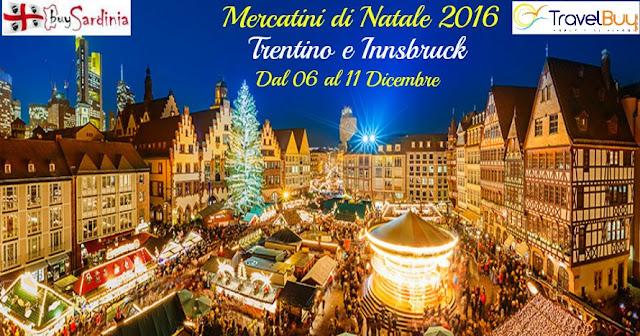 foto mercatini di Natale in Trentino e innsbruck con buysardinia