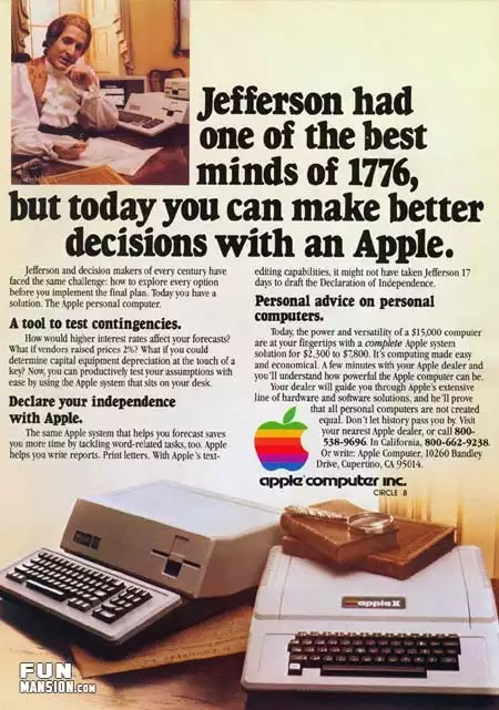 Old days' Computer Advertisements 26