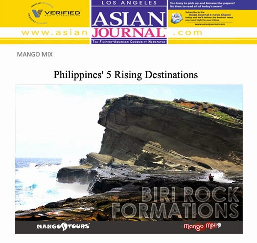 Mango Tours Mango Mix Biri Rock Formations Philippines Rising Destinations