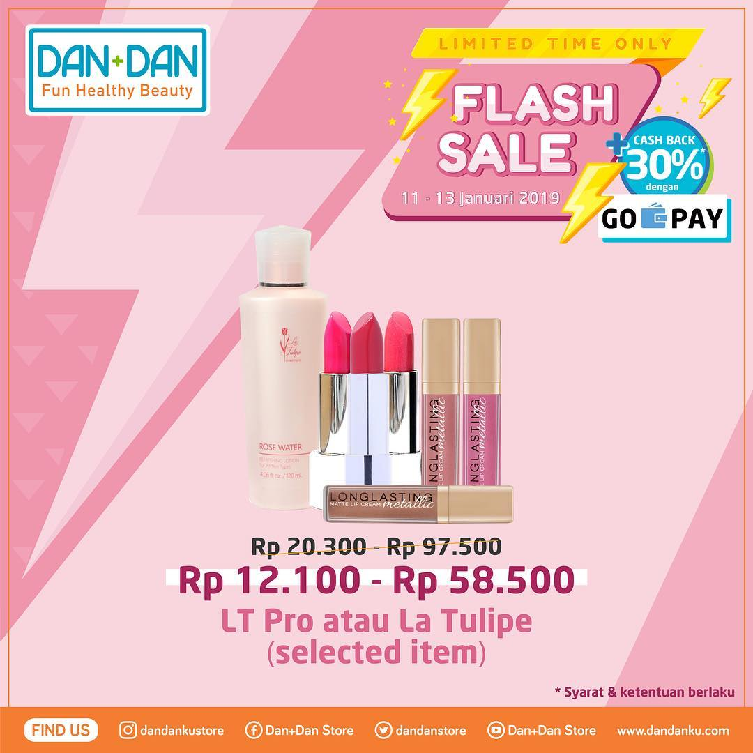 #DanDan - Promo Katalog Flash Sale Periode 11 - 13 Januari 2019