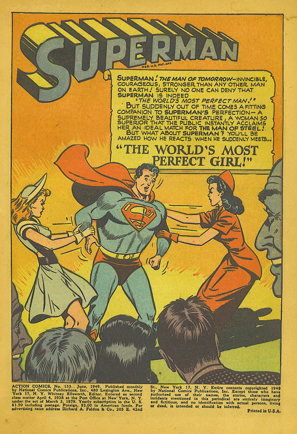 Action Comics (1938) 133 Page 1