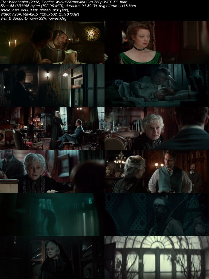 Winchester (2018) English 720p WEB-DL