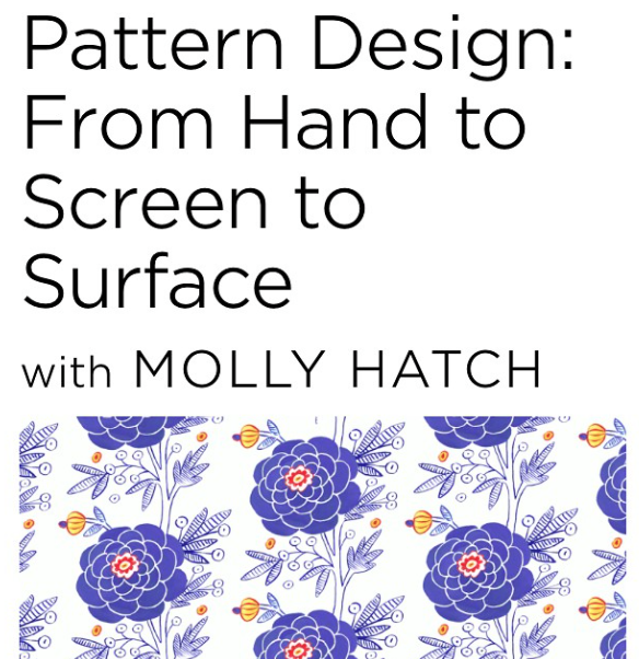 Check out Molly's Creative Live Class!