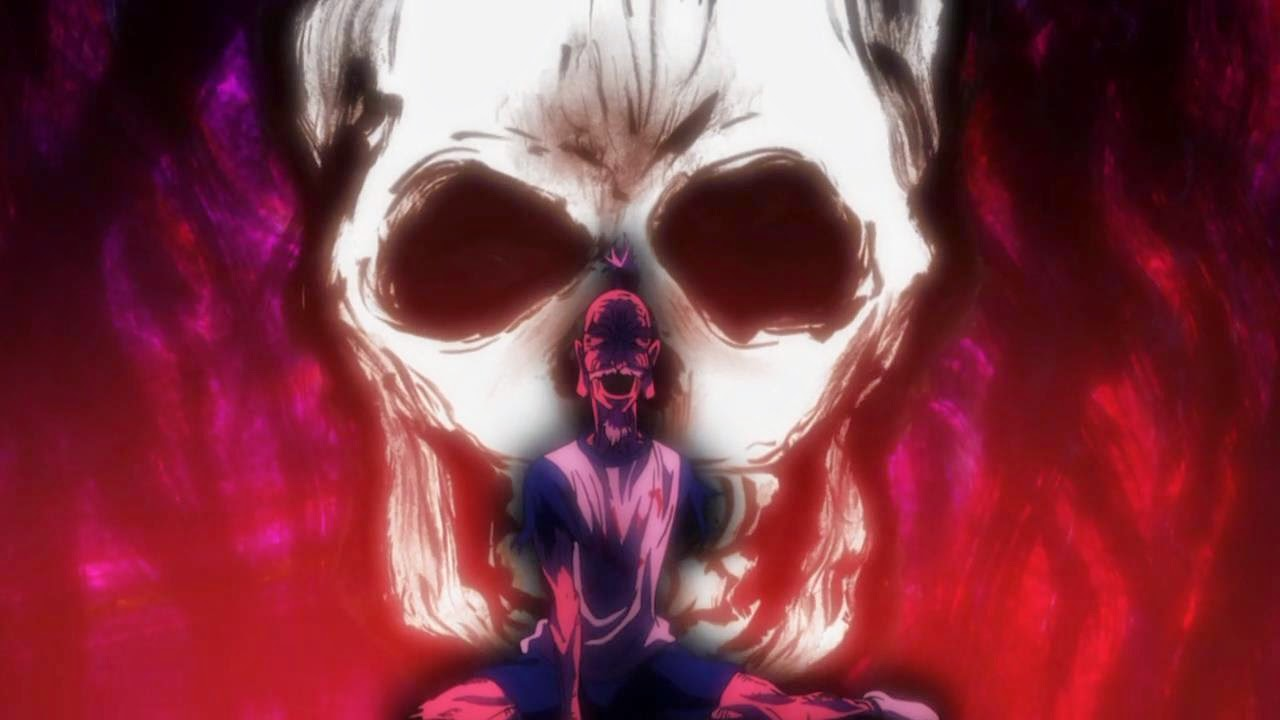 Netero's final moments, Netero's death, Hunter x Hunter, Chimera Ant Arc, Miniature rose