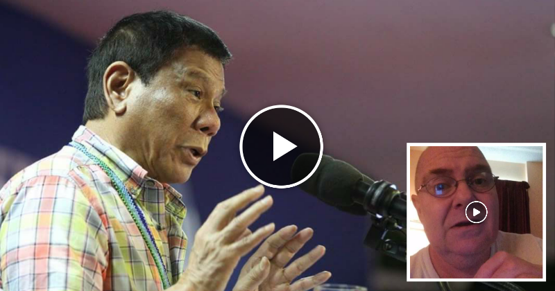 """American guy defends President Duterte from his US friends, calls him a """"True Leader"""""""