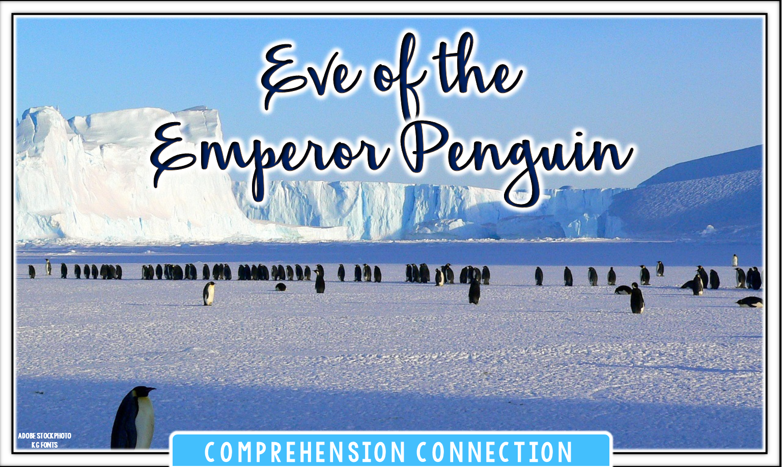 It's winter time, and kids love penguins, right? This post includes ideas you might use for penguin week and features Eve of the Emperor Penguin.