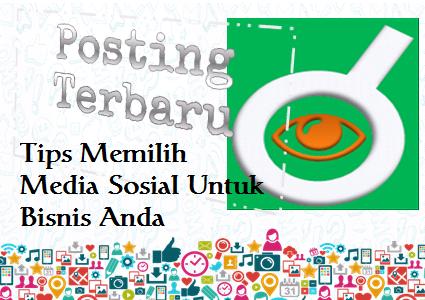 Ilustrasi Tips Memilih Media Sosial Untuk Bisnis Anda - Dipopedia
