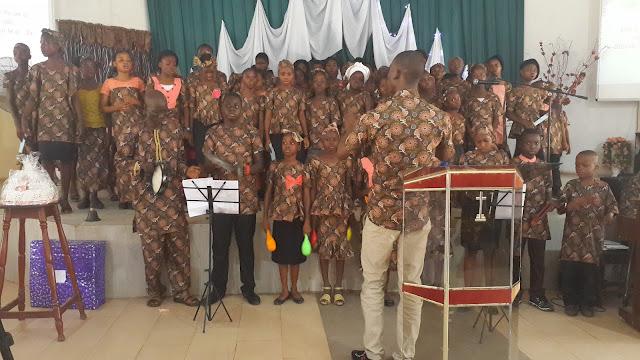 Children's Day Celebration at SDA Okebola, Oyo Conference
