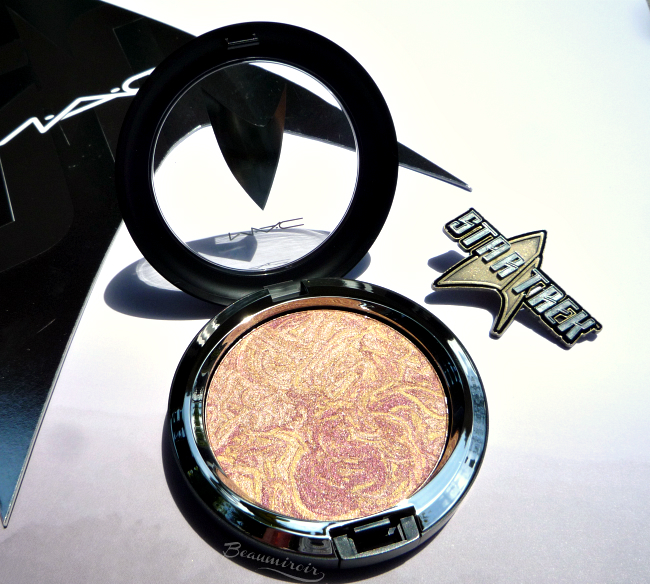 MAC Star Trek: Highly Illogical Trip The Light Fantastic Powder review, swatch, photo