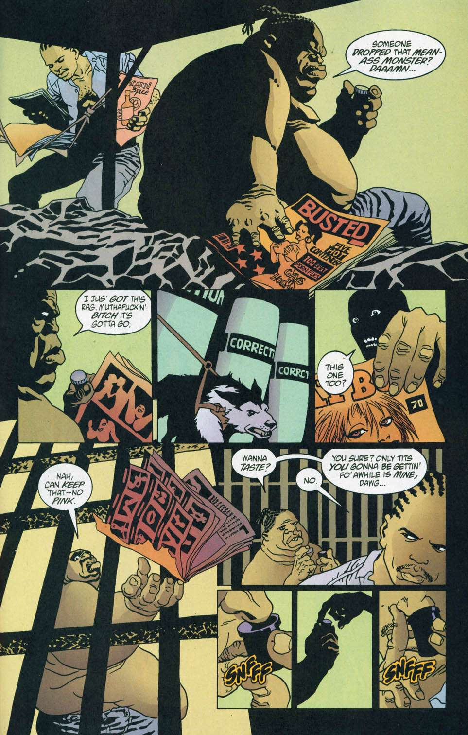 Read online 100 Bullets comic -  Issue #44 - 17