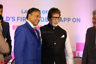 Amitabh Bachchan Launches Worlds 1st Mobile App Abc Of  Health 006.JPG