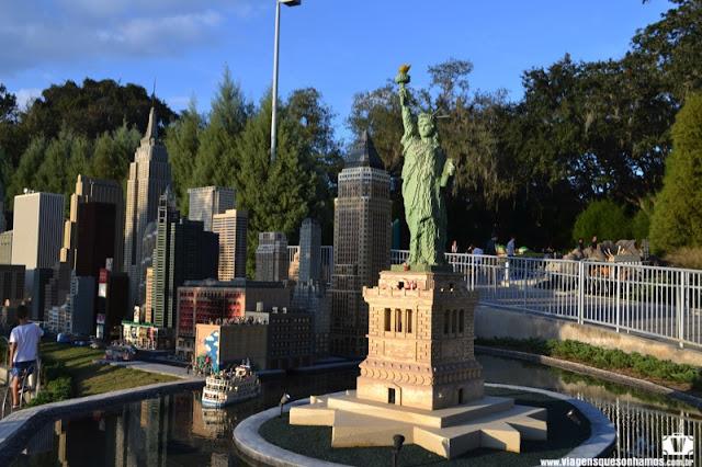 Atrações com miniaturas pelo mundo - Legoland Flórida