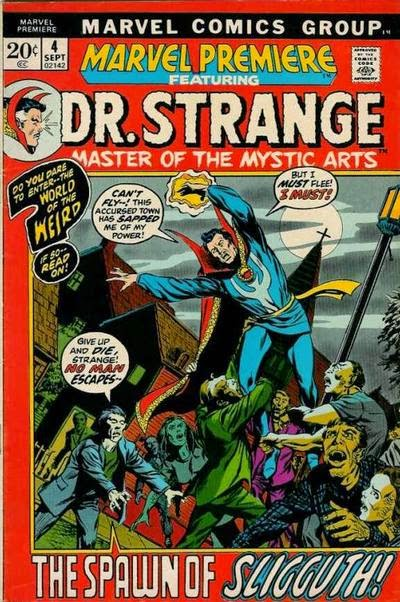Marvel Premiere #4, Dr Strange v Sligguth