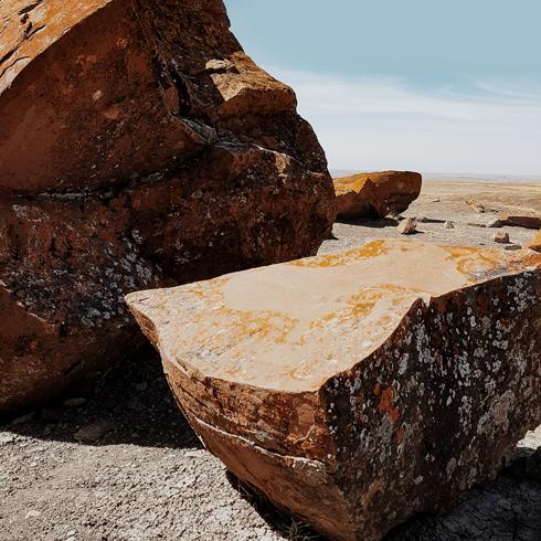 Red Rock Coulee Alberta