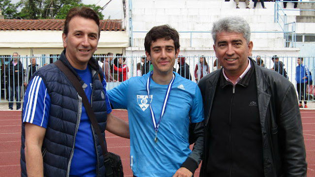 Χρυσός Πανελληνιονίκης ο Μάρκος Γκούρλιας του Εθνικού Αλεξανδρούπολης