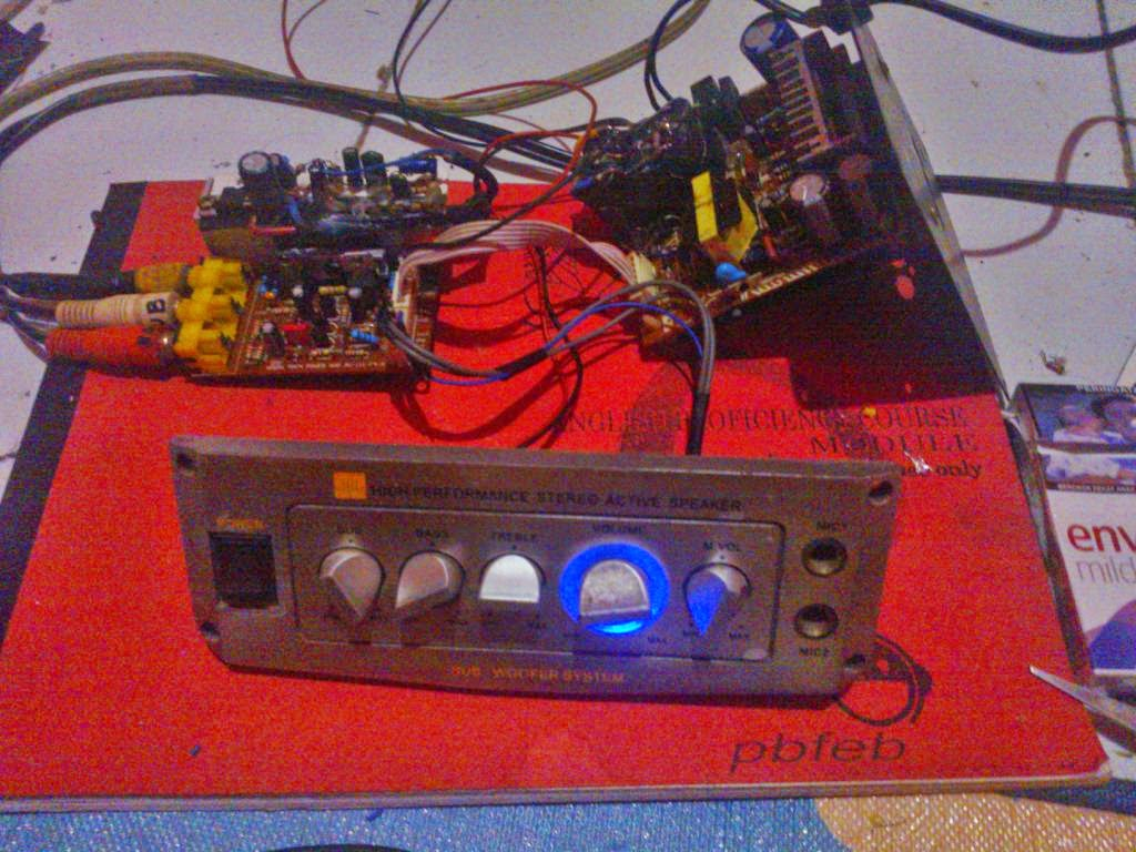 modifikasi power amplifier