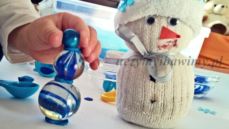 zima - kreatywne bałwany