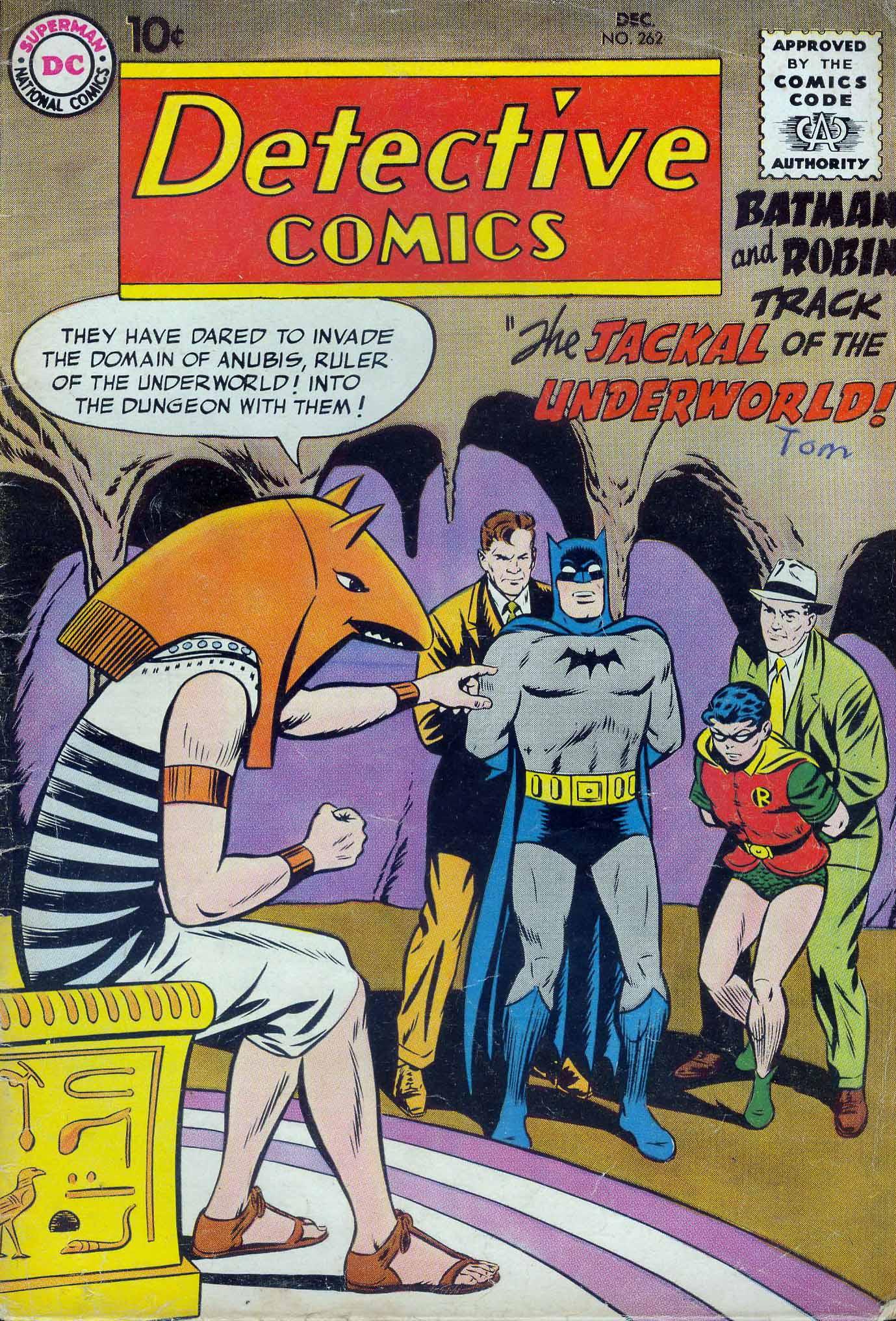 Read online Detective Comics (1937) comic -  Issue #262 - 1