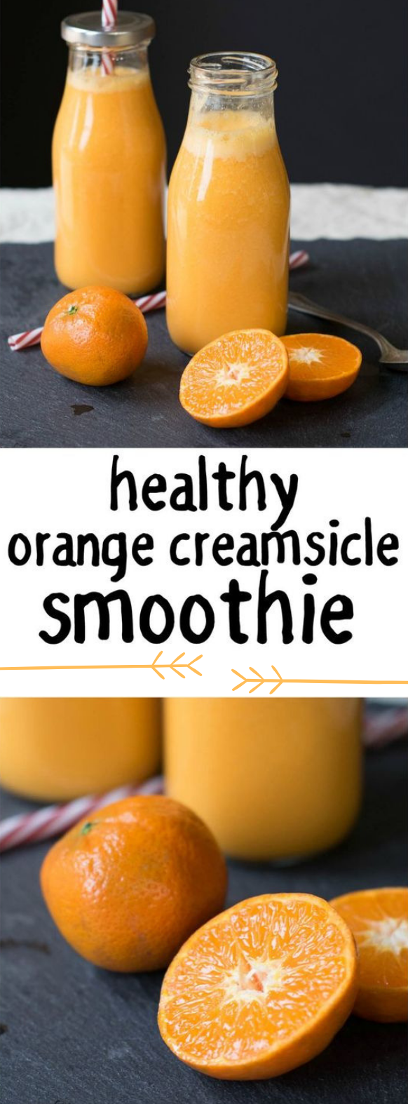 Healthy Orange Creamsicle Smoothie  #Smoothie #drink