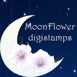 Mooflower digital stamps