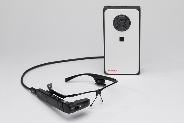 TOSHIBA announces first Windows-based dynaEdge AR100 AR Smart Glasses