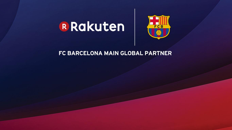 barcelona announces record breaking rakuten shirt sponsorship deal footy headlines. Black Bedroom Furniture Sets. Home Design Ideas