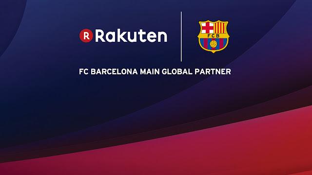 Rakuten is new sponsor of Barcelona