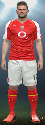 82213bda3f8 PES 2016 Arsenal 2004-2005 Classic Kits. CREDITS  YastRin