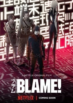 Blame! Filmes Torrent Download capa