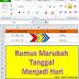 Rumus di Excel Untuk Menampilkan Nama Hari Secara Otomatis