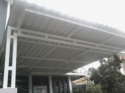 Promo Pemasangan Kanopi Galvalum Murah di Malang BERGARANSI