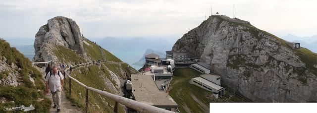 Pico Esel, Pico Oberhaupt, Hotel Bellevue, Monte Pilatus, Suíça