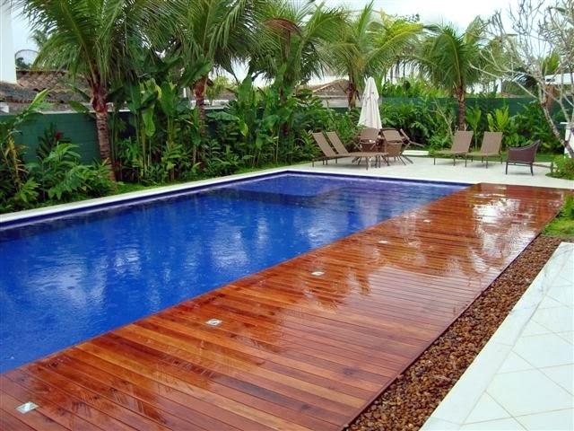 Piscinas de concreto alvenaria e azulejo construir piscina - Fotos de piscinas ...