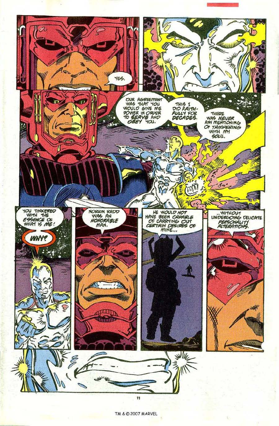 Read online Silver Surfer (1987) comic -  Issue #48 - 13