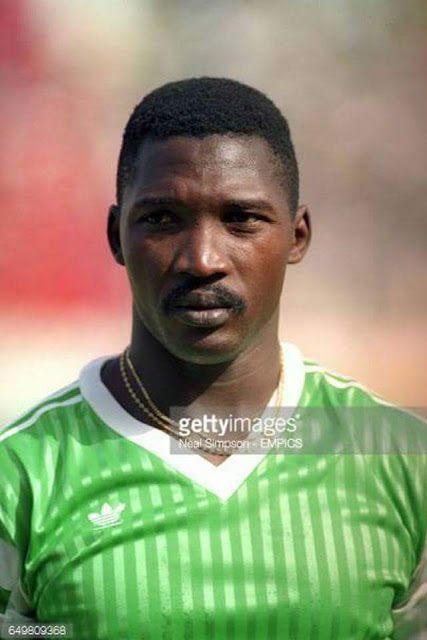 Image result for Photos of Former Indomitable Lions of Cameroon player, Massing Benjamin