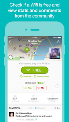 How to find the free wifi near by you throw your mobile