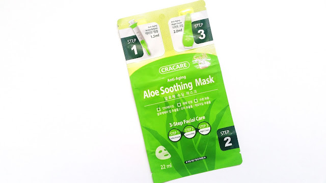 Cracare Anti-Aging Aloe Soothing Mask