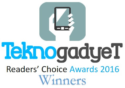 TeknoGadyet Readers' Choice Awards 2016 Winners
