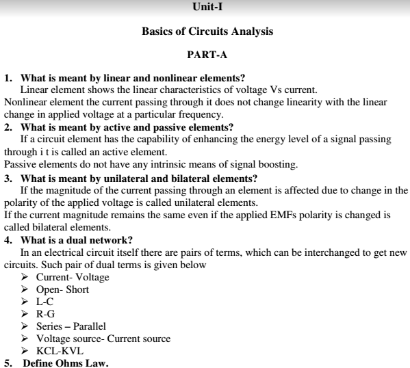 circuit theory unit wise viva short questions and answers pdf rh matterhere com circuit theory pdf free download circuit theory pdf for 2nd semester