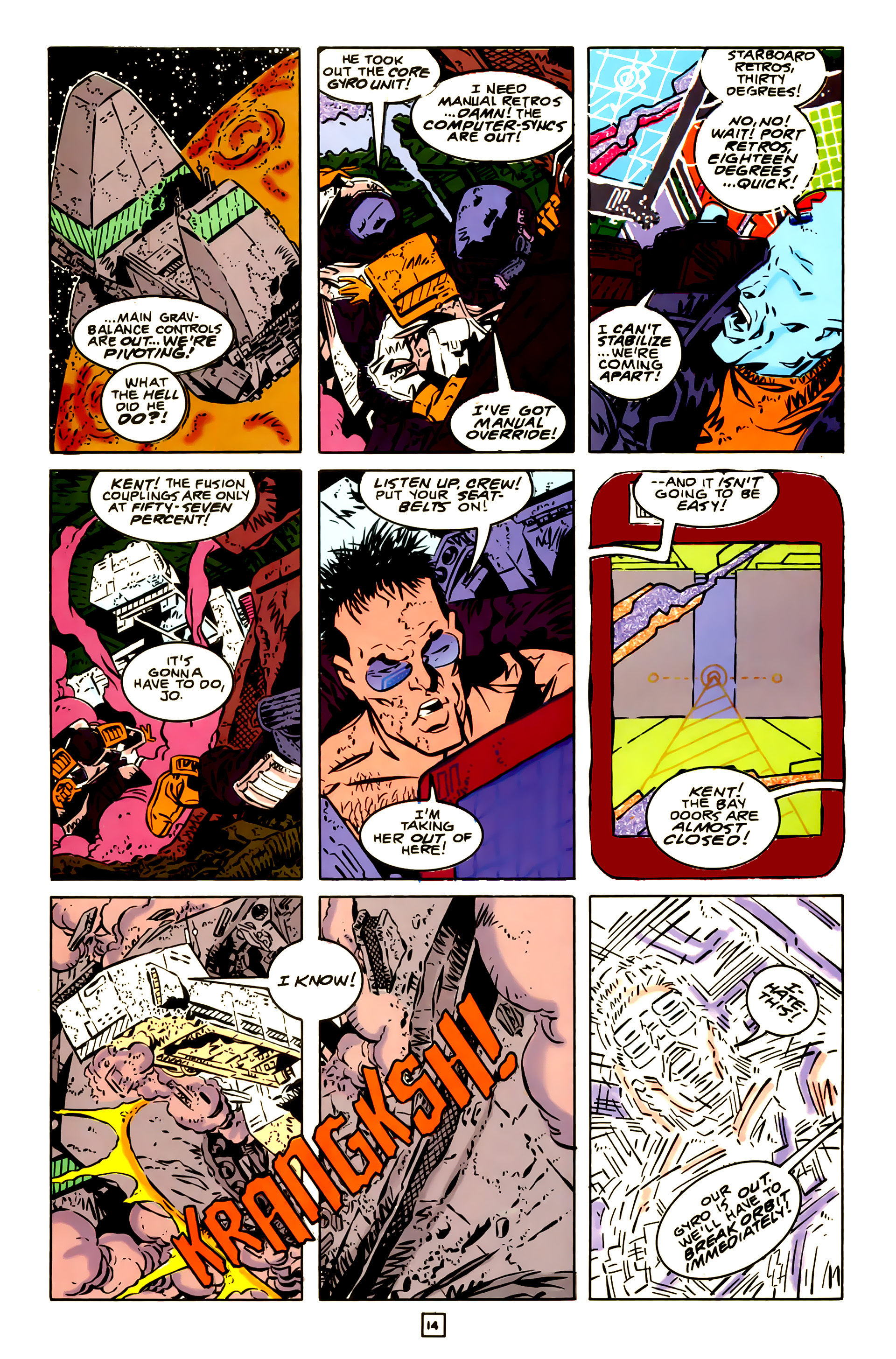 Legion of Super-Heroes (1989) 23 Page 14