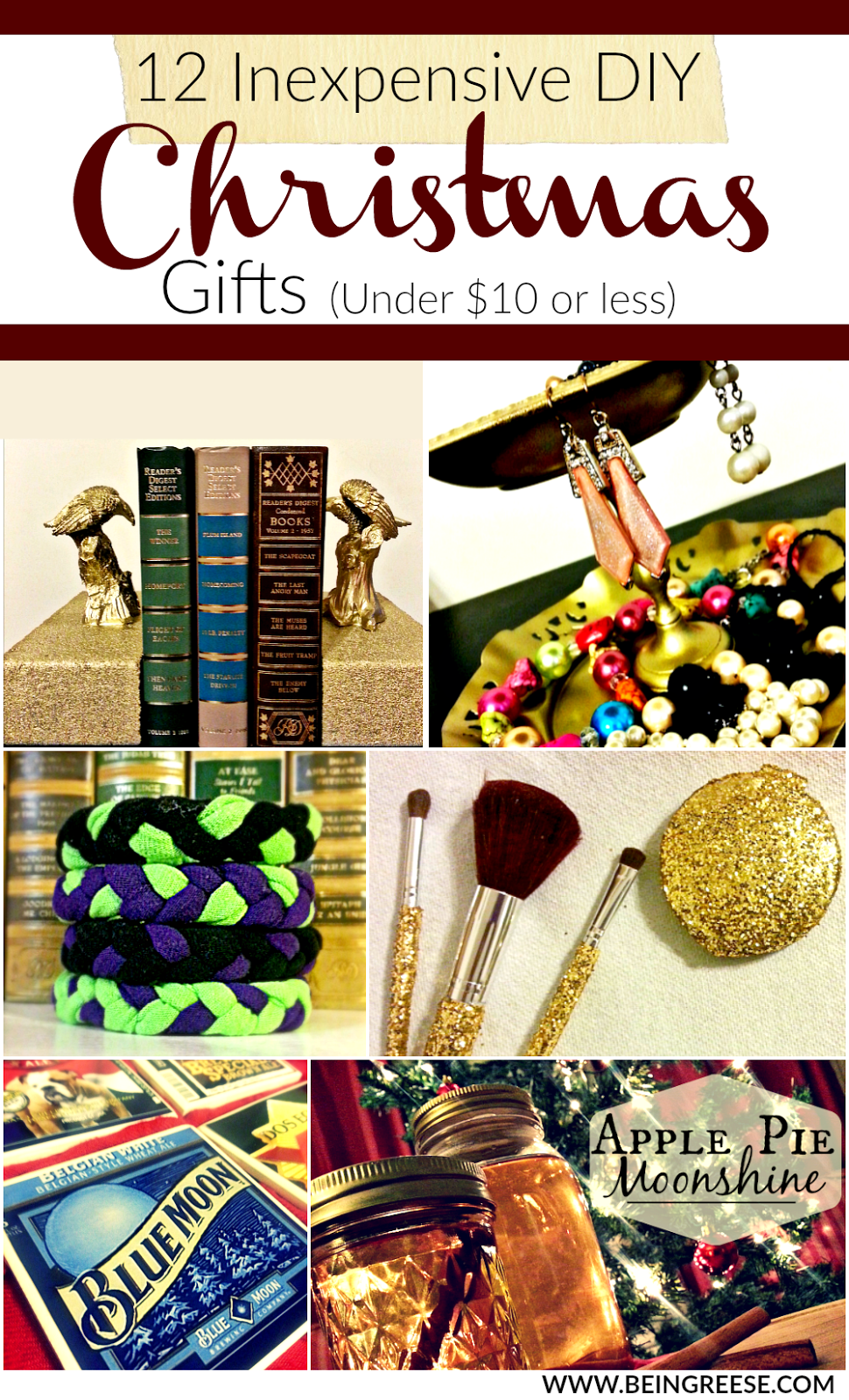 inexpensive christmas gifts 12 inexpensive diy gifts 10 or less 13367