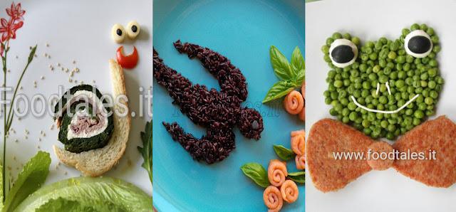 ricette per bambini con lumaca rondine e rana