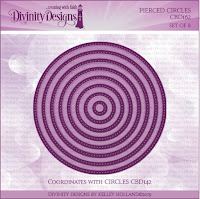 Divinity Designs LLC Custom Pierced Circles Dies
