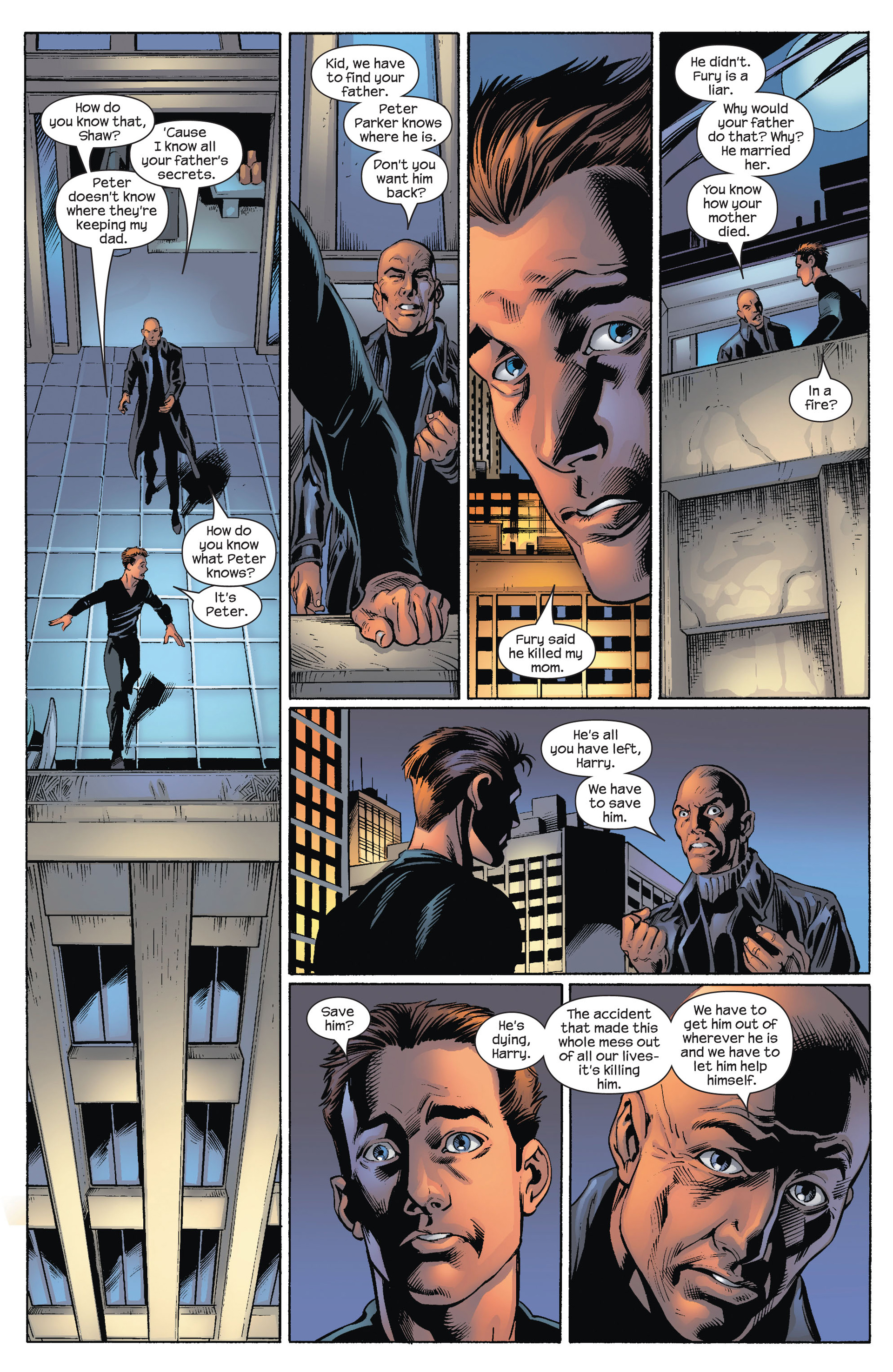 Read online Ultimate Spider-Man (2000) comic -  Issue #75 - 8