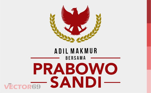 Logo Kampanye Prabowo-Sandi Capres 02 Adil Makmur - Download Vector File EPS (Encapsulated PostScript)