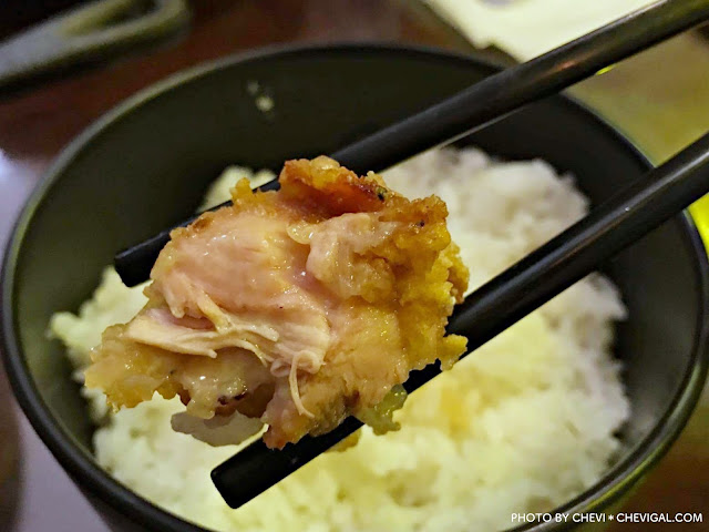IMG 2553 - 台中南屯│Noline食堂。山盛炸雞丼份量多到小心山崩,還有讓人香到哭的斐濟風漢堡排飯(已遷址)