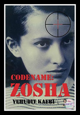 Codename: Zosha is a biographical novel details the life of Zosha Poznanska, a little known Jewish WWII heroine. It begins with her childhood in Poland an her involvement in the Jewish youth organizations there, follows Zosha to life on a kibbutz in Israel and her introduction to Communism, and ends with her involvement with anti-Nazi espionage.