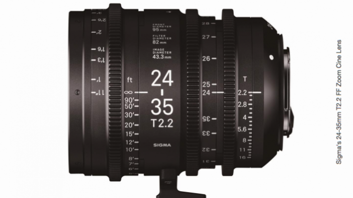 Sigma 24-35mm T2.2 Cine FF Zoom