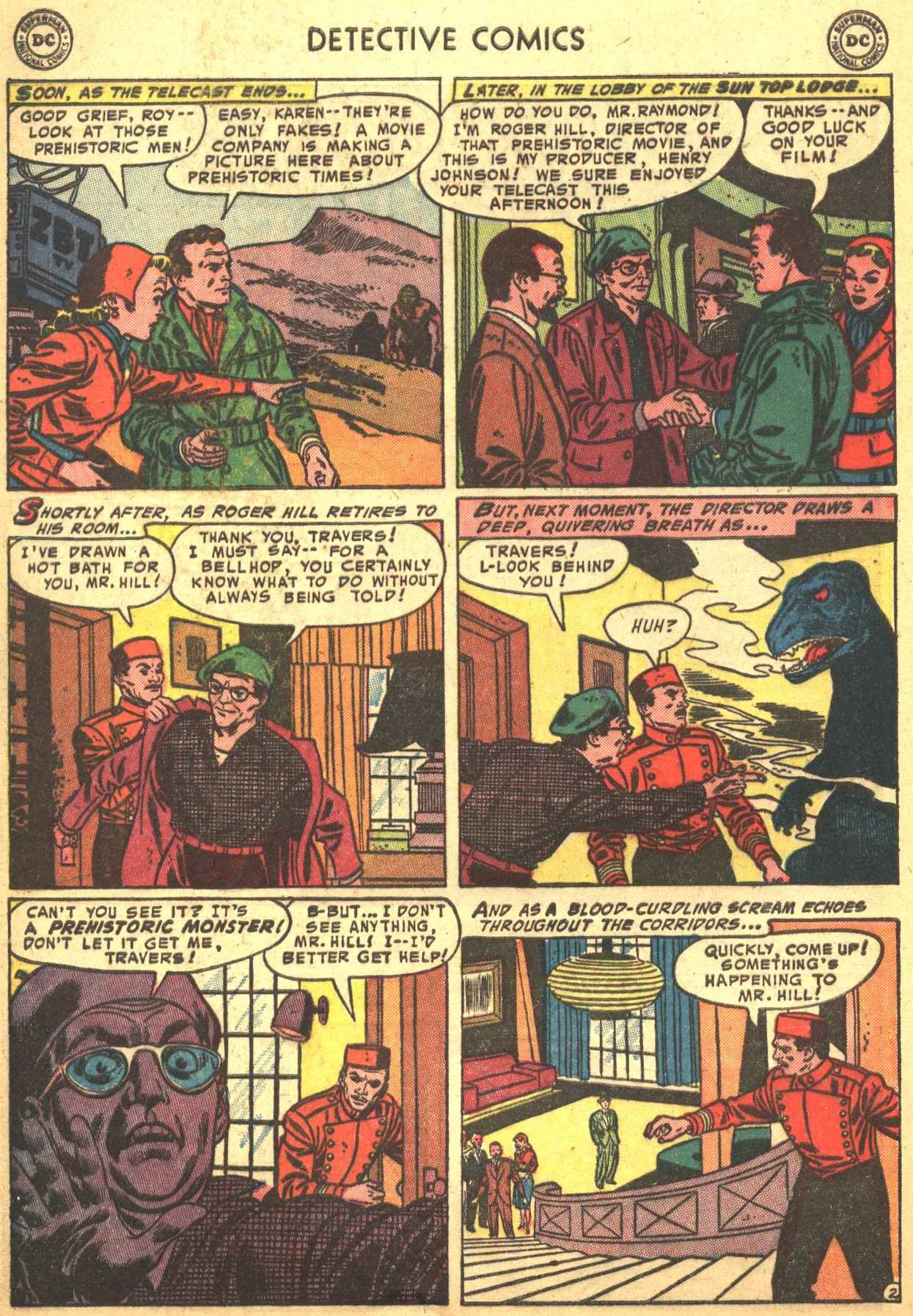 Read online Detective Comics (1937) comic -  Issue #206 - 33