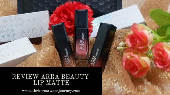 ARRA beauty lip matte review ARRA beauty lip matte anti aging lip matte lip matte anti aging merawat bibir kering mencegah penuaan dini pada bibir ciri penuaan dini pada bibir lip matte anti bibir kering warna ARRA beauty lip matte clozette indonesia
